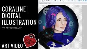 YouTubeThumbnail_CoralineDigitalIllustration