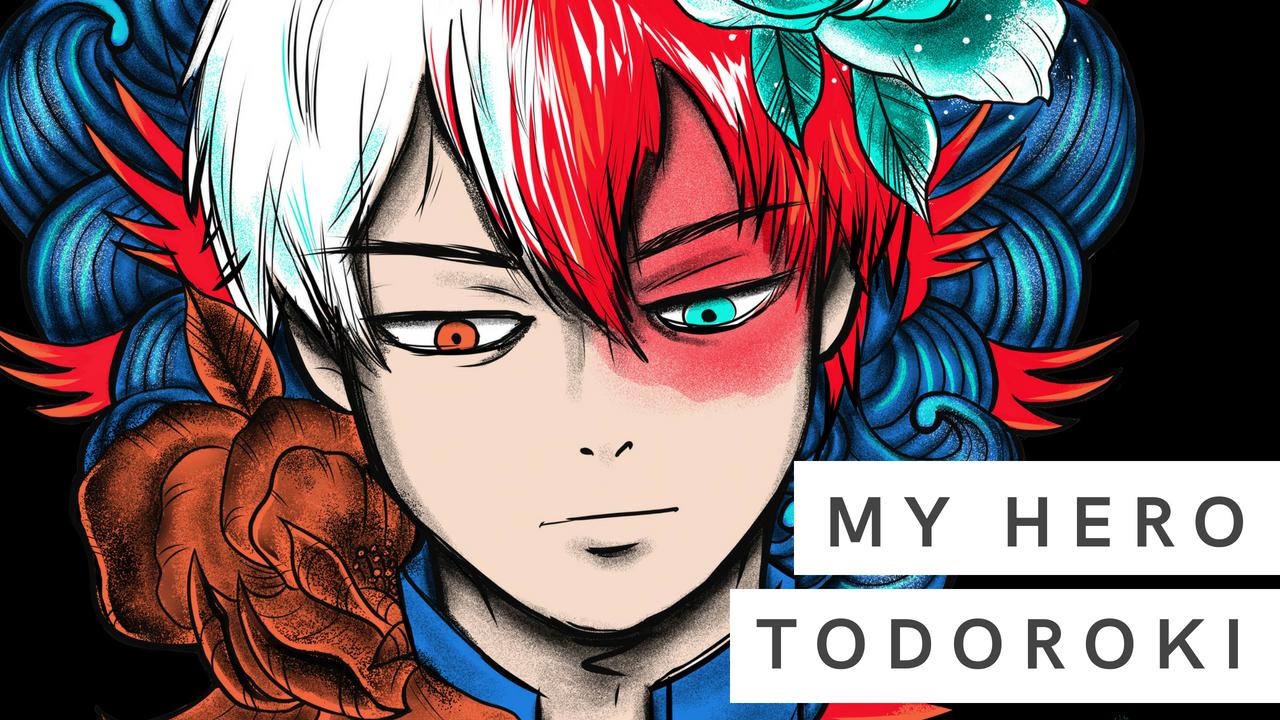 My Hero, Todoroki Shoto | Digital Illustration