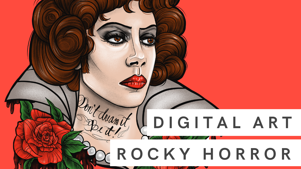 Digital Art | Rocky Horror Picture Show